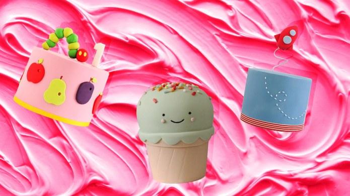 The Trendiest Kids Birthday Cakes on