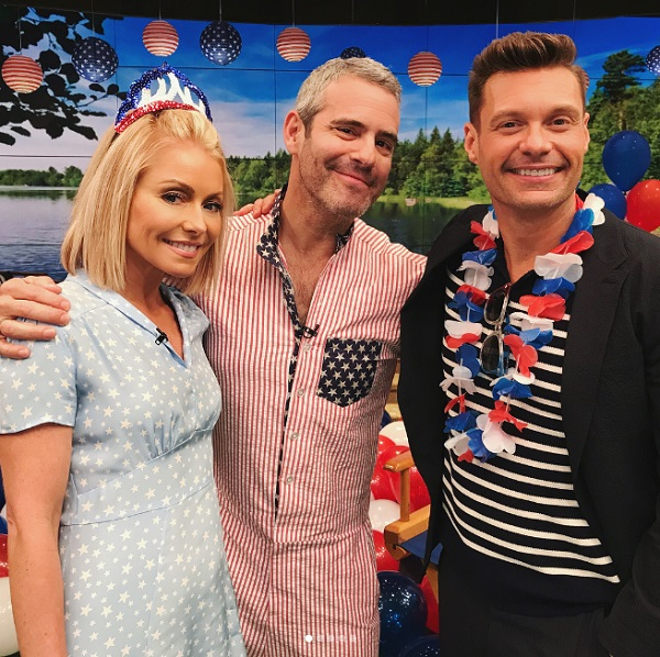 Celebrities Celebrating Independence Day: Ryan Seacrest