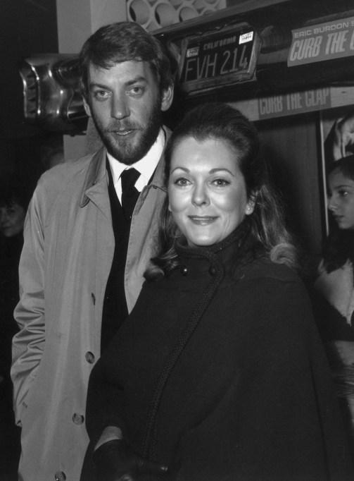 Donald Sutherland Shirley Douglas 1968