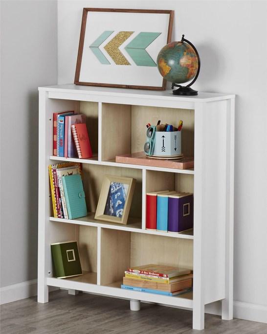 Swedish-Modern Children's Furniture | Three-Shelf Bookcase