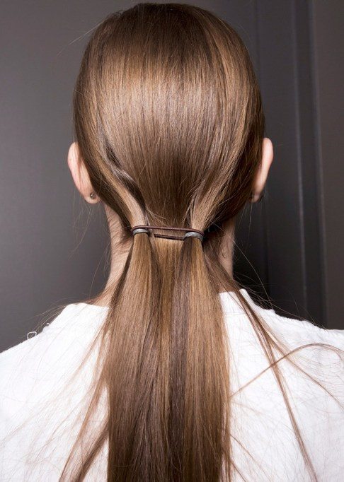 Summer Beauty Ideas For When It's Crazy-Hot | Sleek double ponytails