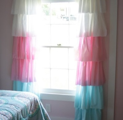 Soft summer touches for your windows