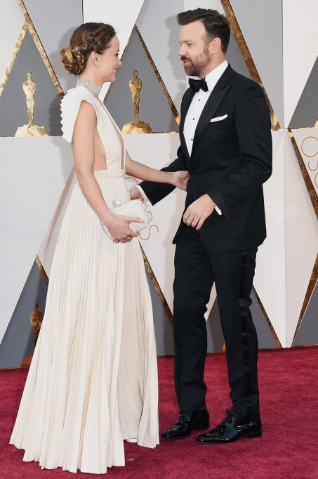 Olivia Wilde & Jason Sudeikis Oscars 2016