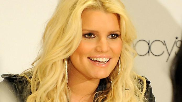 Jessica Simpson's first wedding photo revealed