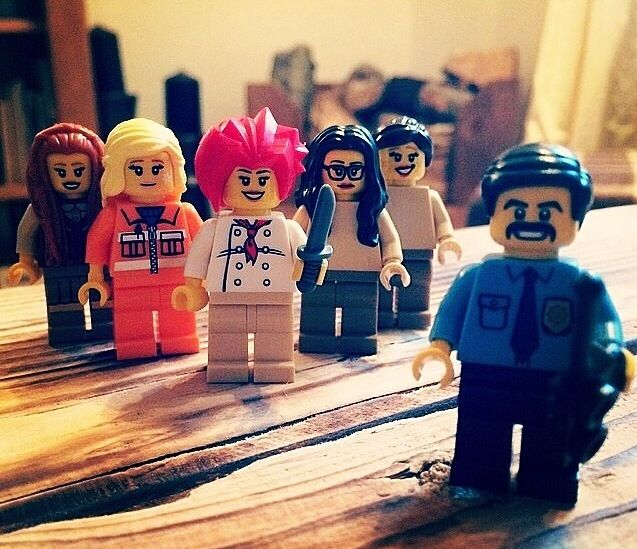 OITNB Lego
