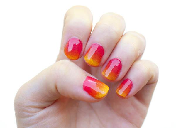 How to create an ombre nail