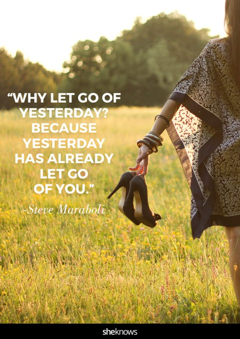 quote about moving on