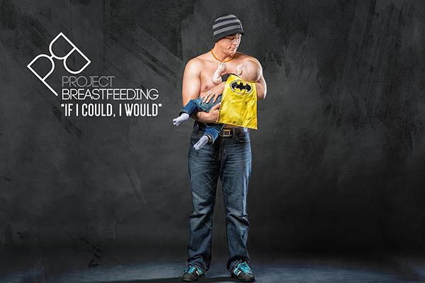 Dad's breastfeeding   Sheknows.com