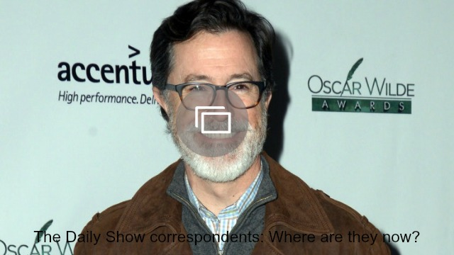 daily show correspondents slideshow