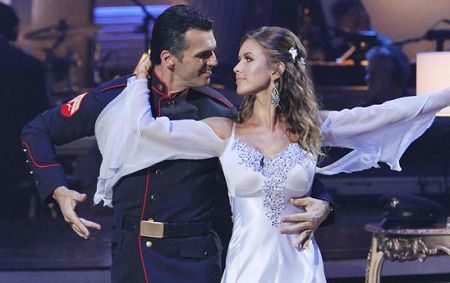 Audrina does awesome on Dancing With the Stars