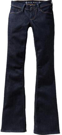 Dark denim jeans