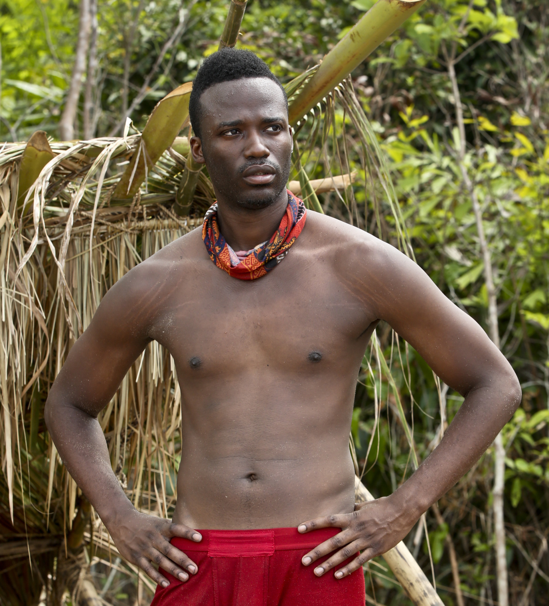Darnell Hamilton on the Brawn tribe for Survivor: Kaoh Rong