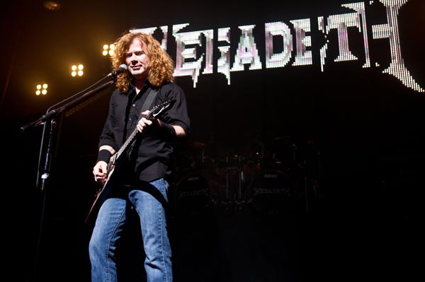 Megadeth's Mustaine blames Obama for deaths