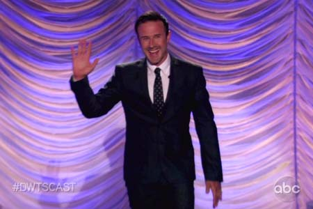 David Arquette talks Dancing With the Stars