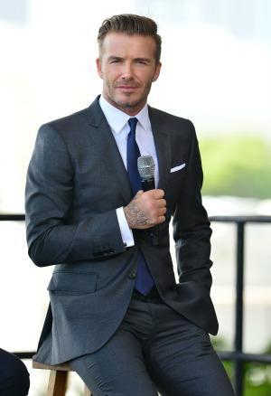 David Beckham named underwear model of the century