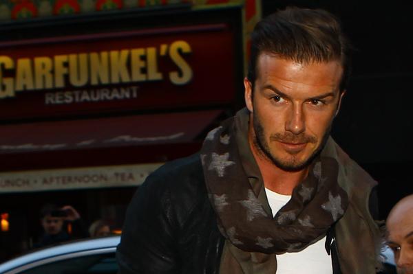 David Beckham embarrassed by underwear ads