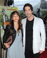 David Schwimmer and Zoe Buckman