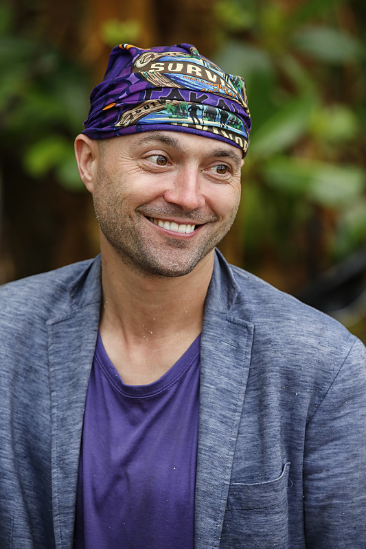 David Wright on Survivor: Millennials Vs. Gen-X
