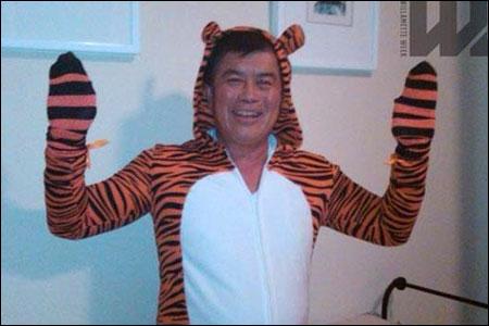 David Wu (D-OR) Tiger Suit