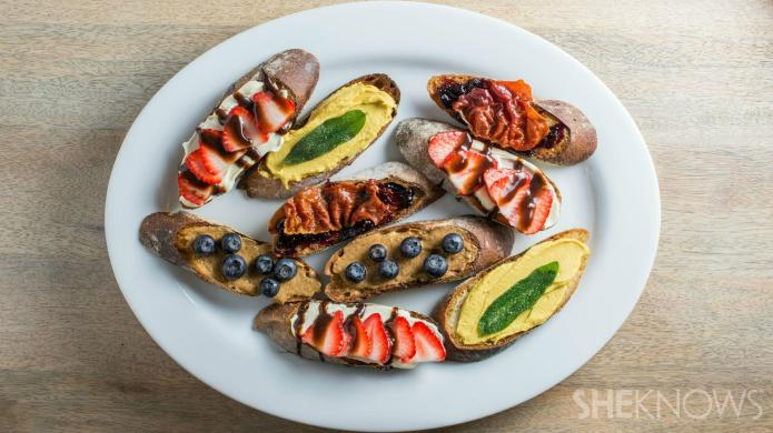4 Crostini toppings that are perfect