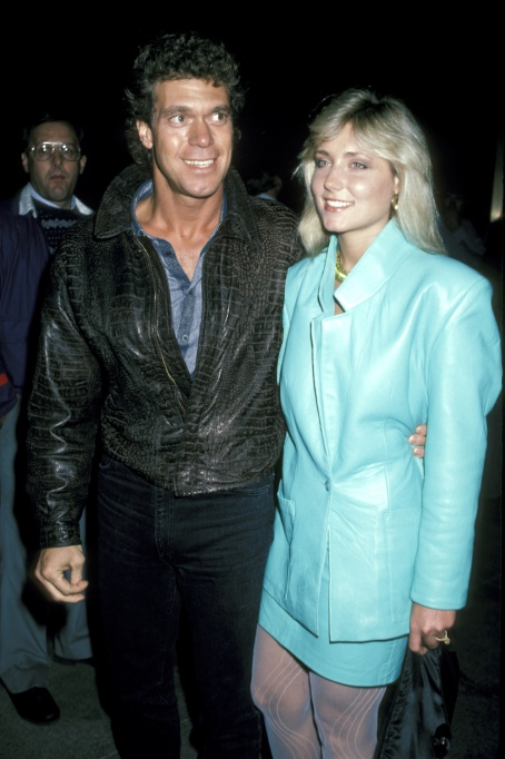 Joe Piscopo Nancy Jones 1986
