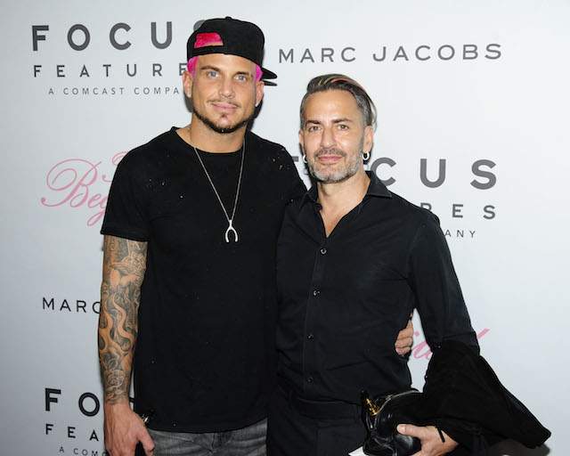 Marc Jacobs & Char DeFrancesco at the premiere of 'The Beguiled' in 2017