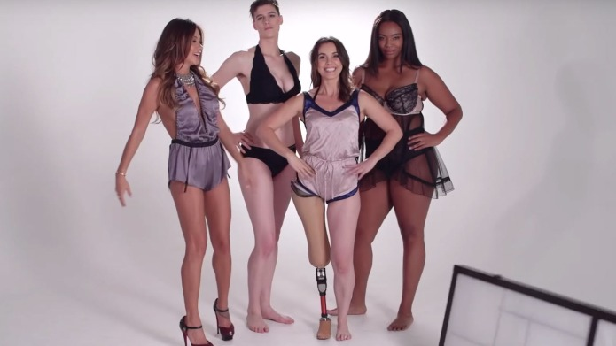 '100 Years of lingerie' video shows