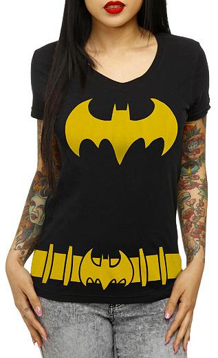 Batgirl v-neck