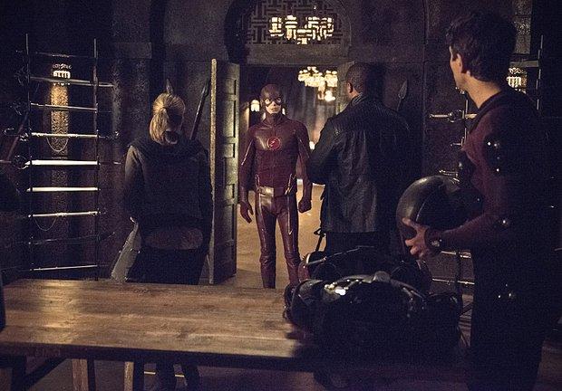 The Flash in Arrow