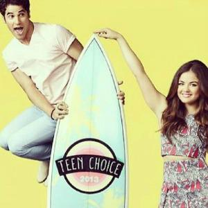 Darren Criss & Lucy Hale to