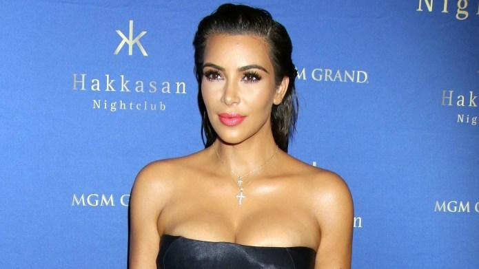 Kim Kardashian West is back on