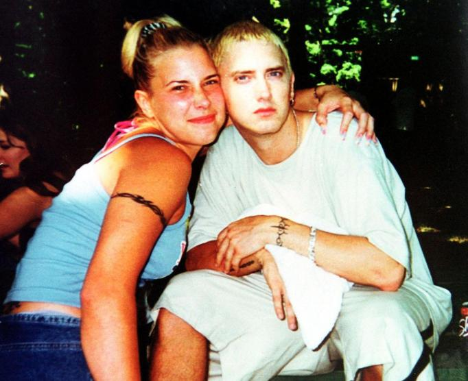 Kim Mathers and Eminem