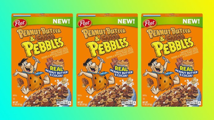 Peanut Butter & Cocoa Pebbles Might