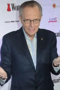 Larry King is signing off