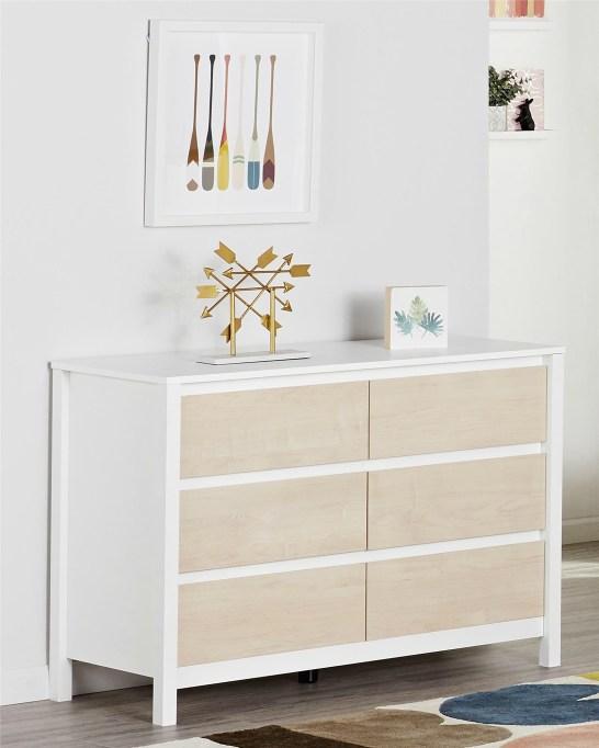 Swedish-Modern Children's Furniture | Six-Drawer Dresser