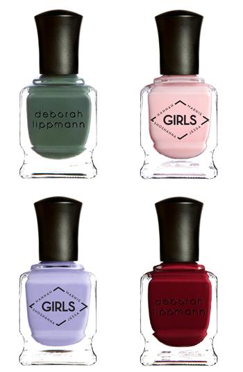 Girls' nail polish collection