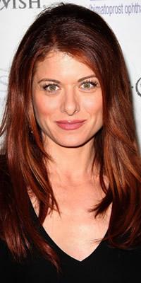 Debra Messing hair color