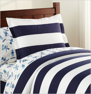 Rugby Duvet Cover Pottery Barn Kids