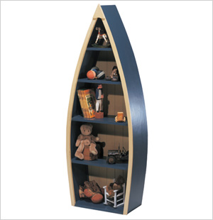 Rowboat Bookcase, Posh Tots