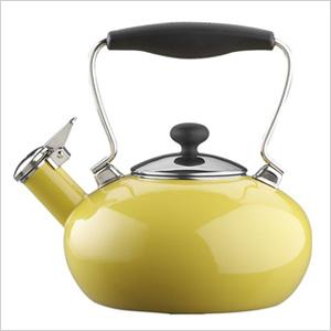 Yellow teakettle