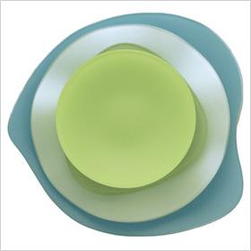Sea glass dinnerware