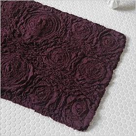 Purple bathmat