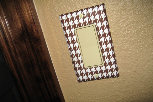 decorative light switch covers diy
