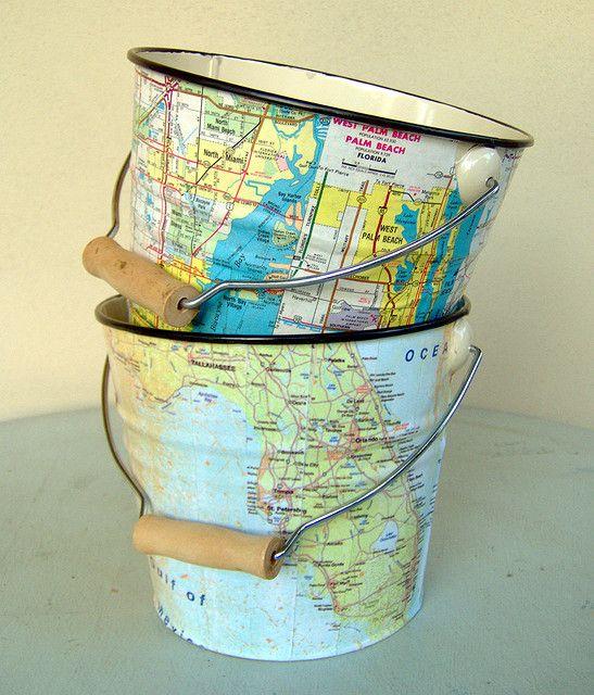 Decoupage map buckets