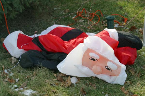 Deflated Santa
