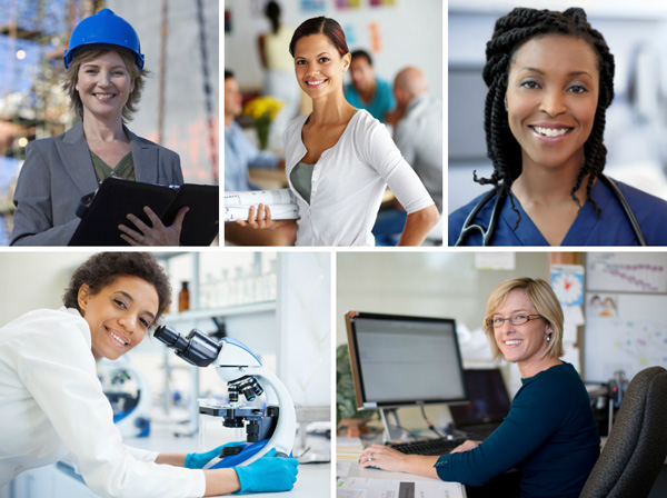 Top jobs for women