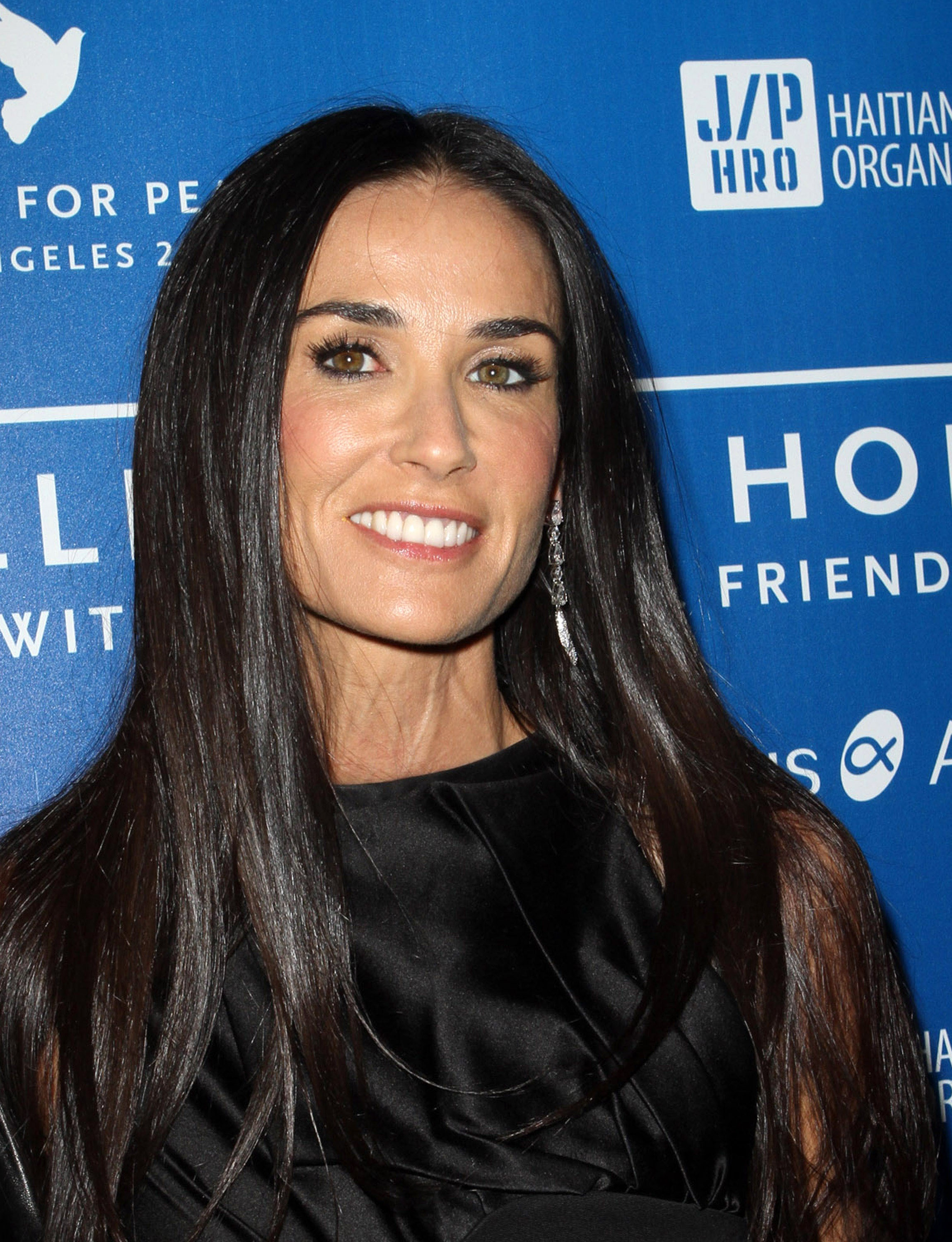 demi moore first public appearance
