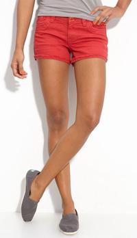 STS Blue Frayed Cuff Denim Shorts