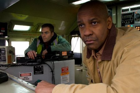 Denzel Washington and Chris Pine in Unstoppable