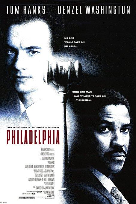 Movies turning 25 this year: Philadelphia